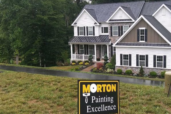 Morton Painting - Sign of Quality!