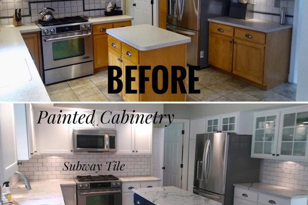 Amazing Kitchen Renovation Before & After